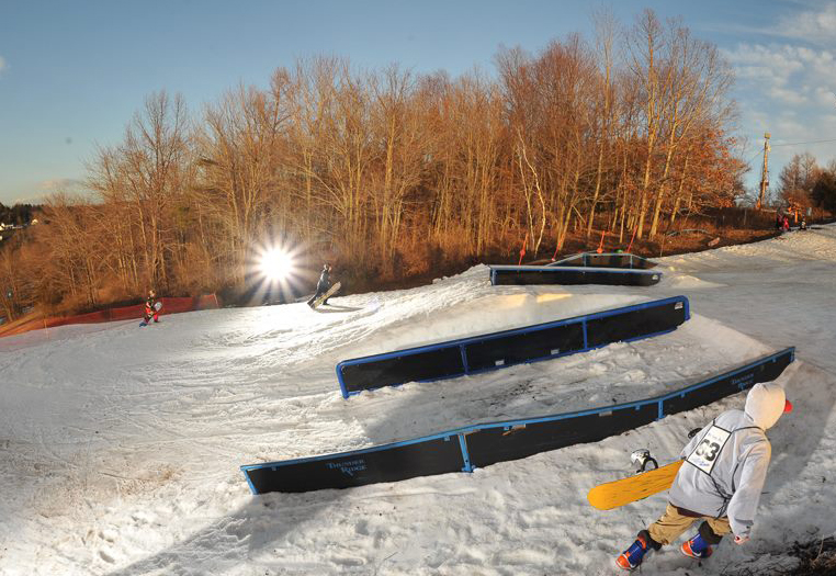 Rails in Terrain Park